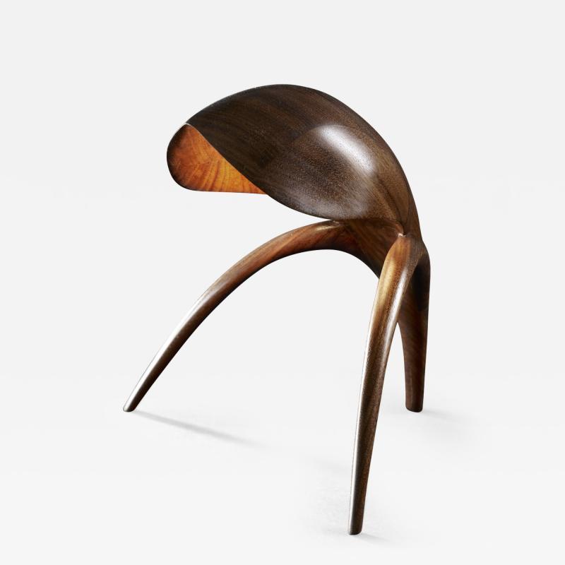 Gildas Berthelot Sculpted Table Lamp by Gildas Berthelot