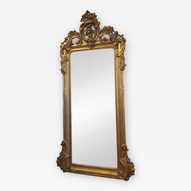 Gilt Pier Mirror
