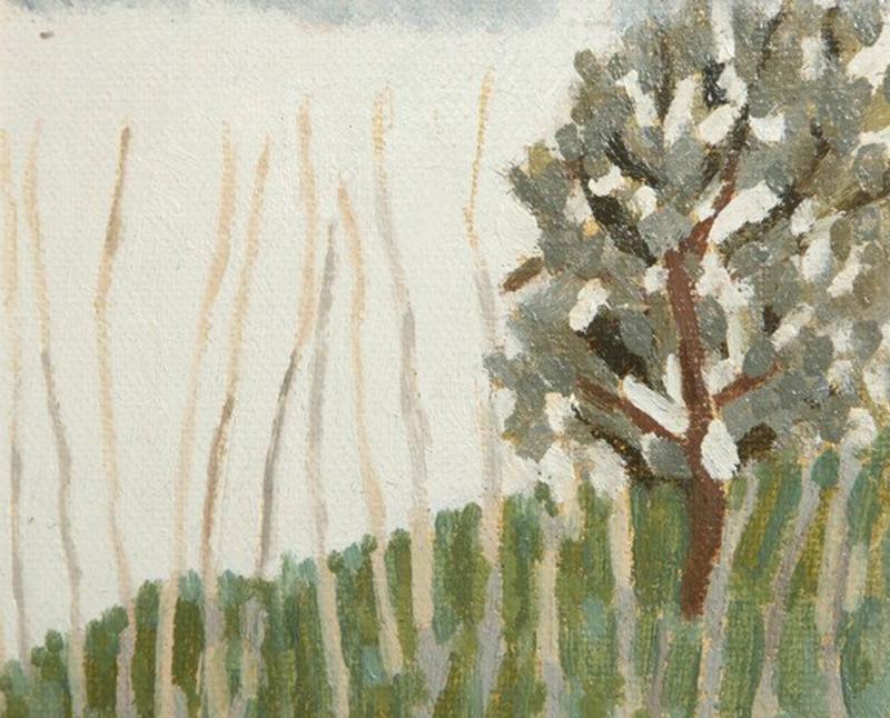 Gino Cosentino Painting on Paper by Gino Cosentino 1916 2005