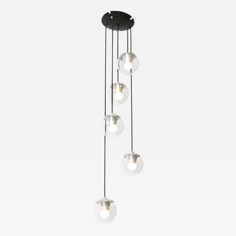 Gino Sarfatti 5 Light Hanging Fixture 2095 by Gino Sarfatti for Arteluce
