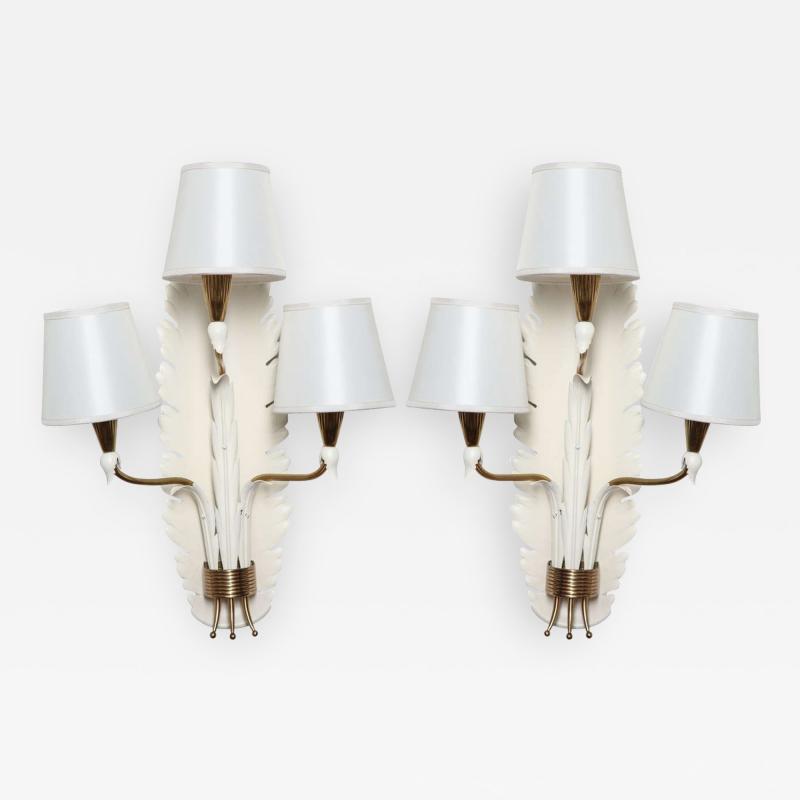 Gino Sarfatti Arteluce Sconces Designed by Gino Sarfatti Made in Italy