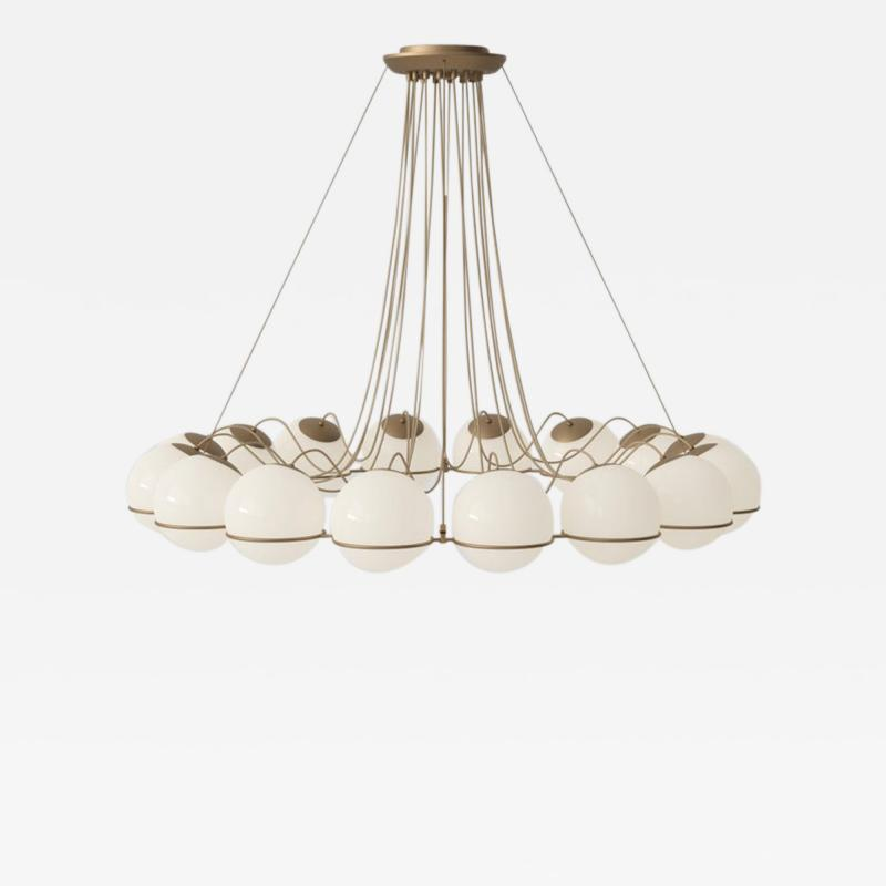Gino Sarfatti Gino Sarfatti Model 2109 16 14 Chandelier in Brass