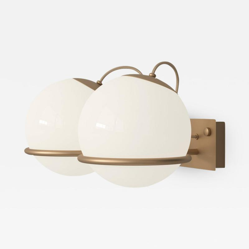 Gino Sarfatti Gino Sarfatti Model 238 2 Wall Lamp in Brass