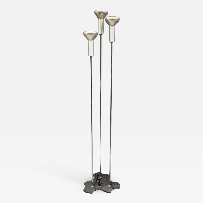 Gino Sarfatti Iconic set of three Floor Lamps by Gino Sarfatti