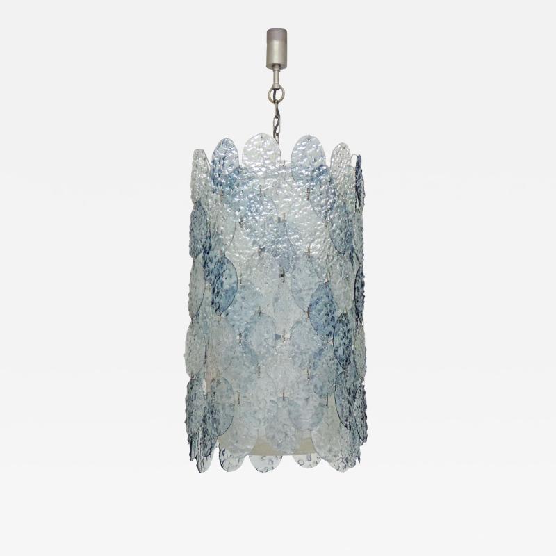 Gino Vistosi Gino Vistosi Murano Glass Ceiling Lamp for Vistosi Italy 1966