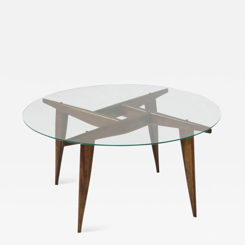 Gio Ponti Coffee Table by Gio Ponti for Singer Sons 1950s
