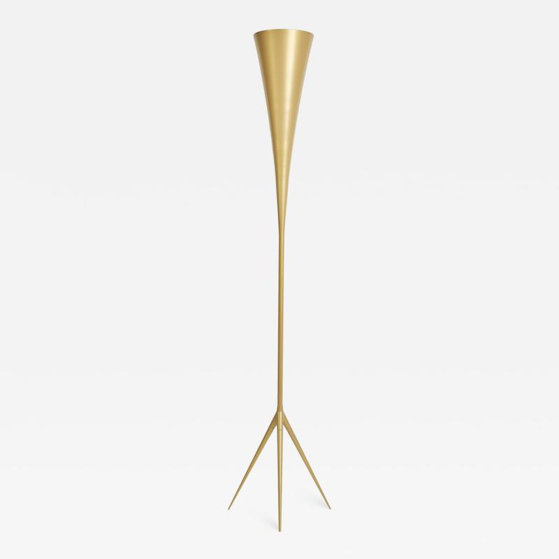 Gio Ponti De Lux B8 Floor Lamp by Gio Ponti for Tato