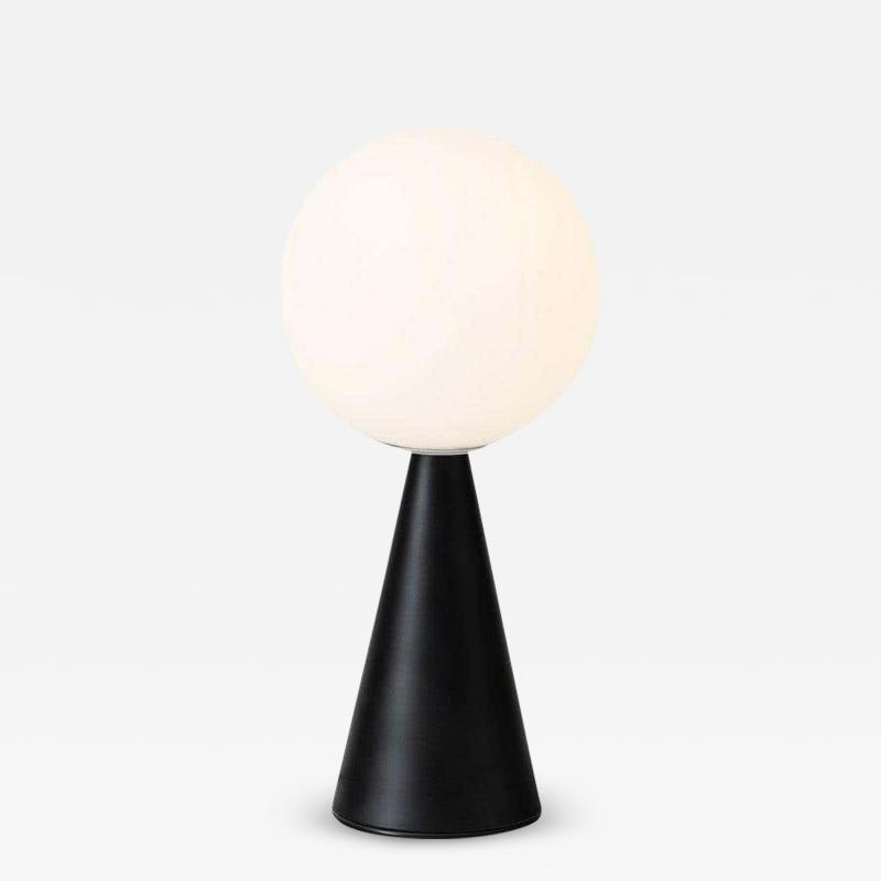 Gio Ponti Gio Ponti Bilia Mini Table Lamp in Black for Fontana Arte