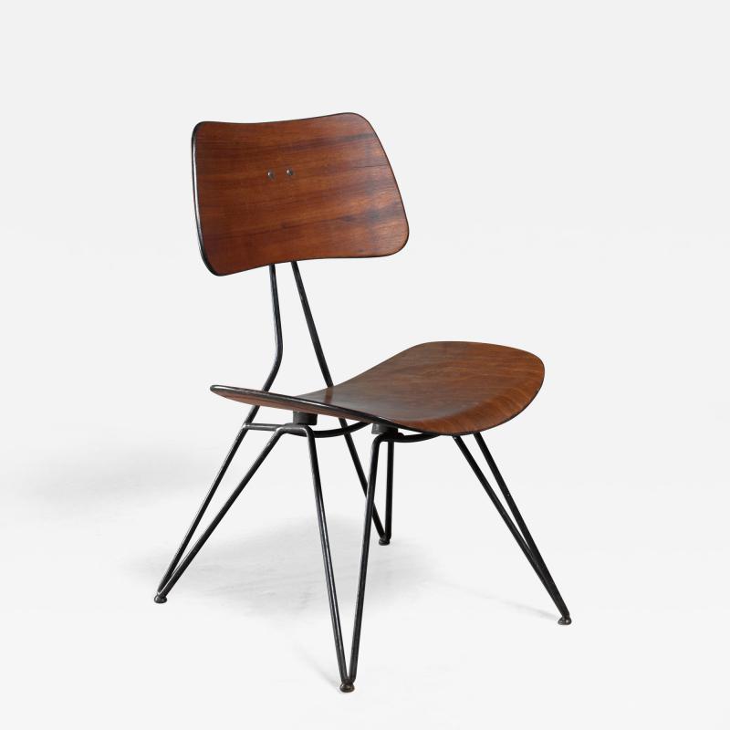 Gio Ponti Gio Ponti DU10 chair for Rima Italy 1950s