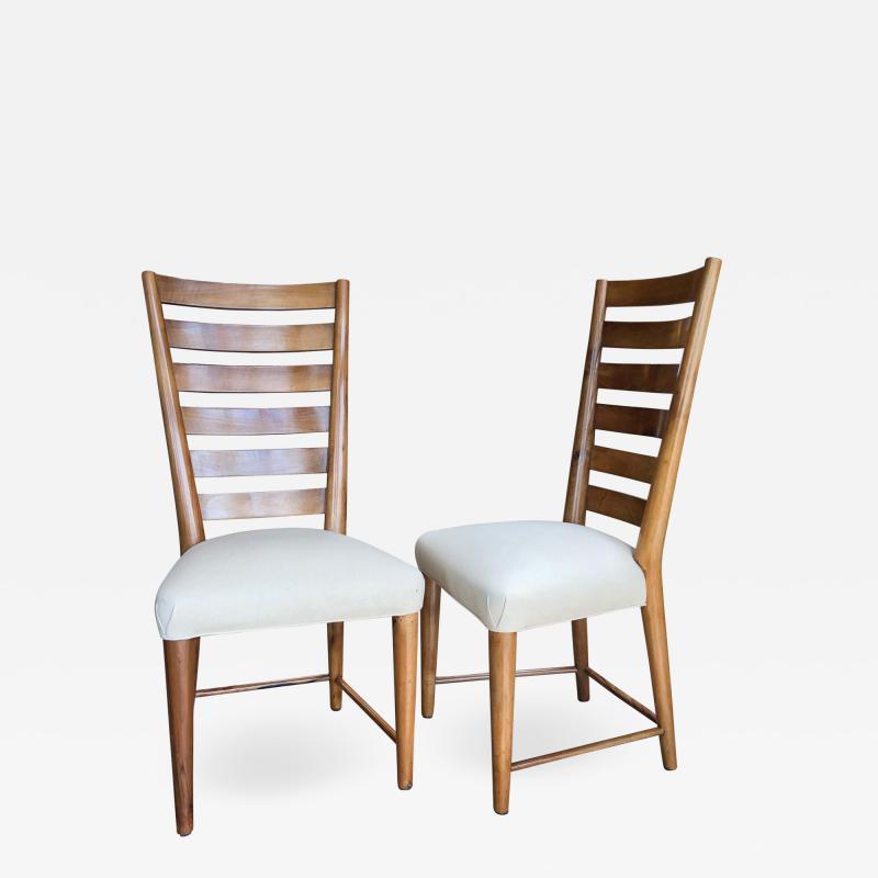 Gio Ponti Gio Ponti Rare Ladderback Chairs Italy 1940s