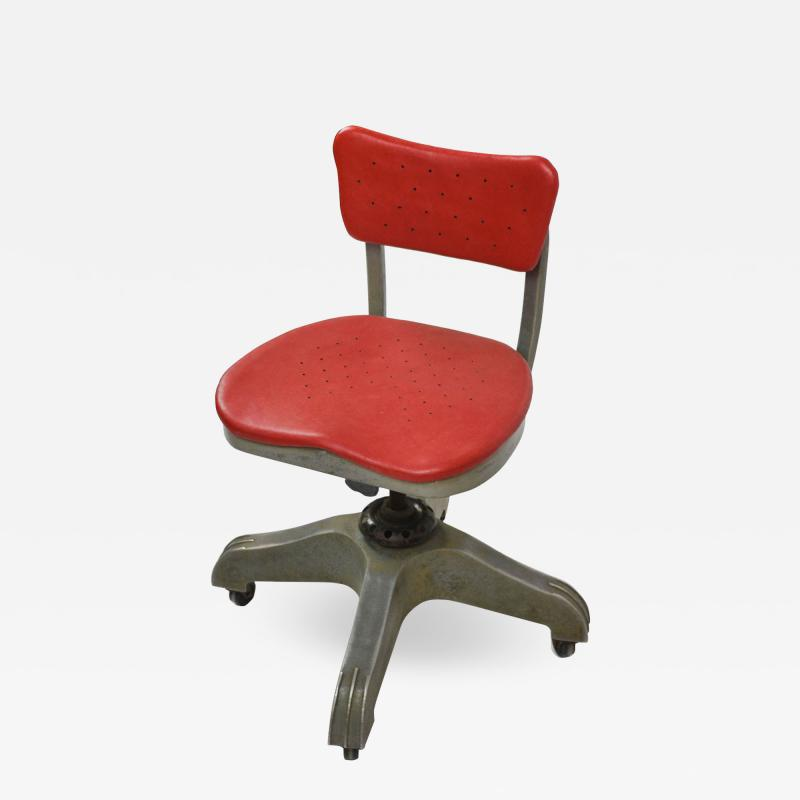 Gio Ponti Gio Ponti Swivel Chair for Montecatini Office produced by Kardex
