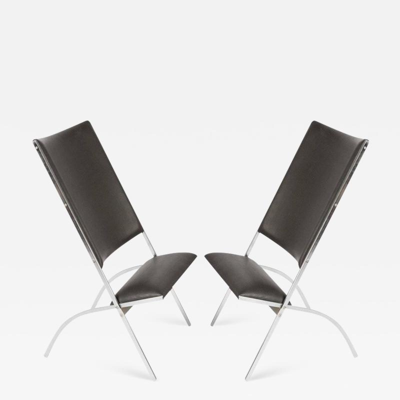 Gio Ponti Pair of Pontiponti Chairs by Gio Ponti for Pallucco