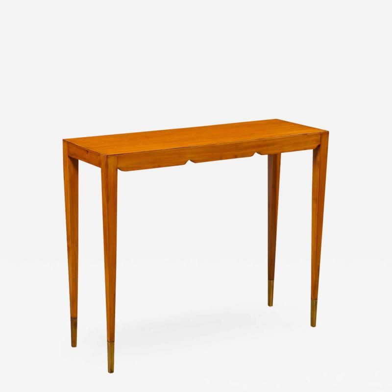 Gio Ponti Rare Petite Console Table by Gio Ponti