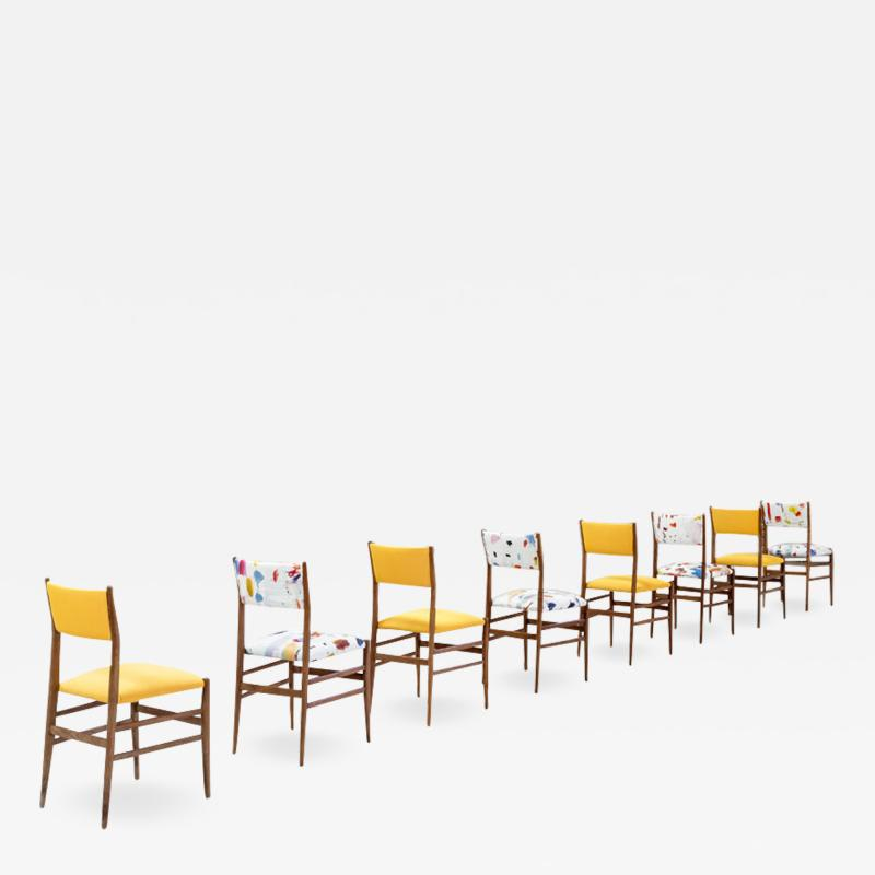 Gio Ponti Set of 12 Charis Mod Leggera Designed by Gio Ponti and Edited by Cassina