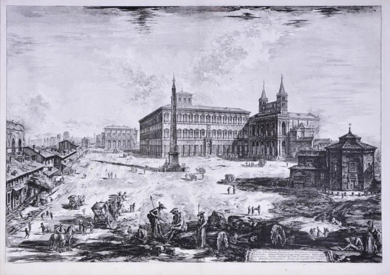 Giovanni Battista Piranesi Giovanni Battista Piranesi A set of Six view of Rome