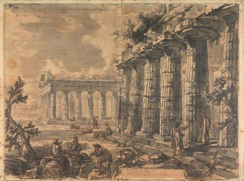 Giovanni Battista Piranesi Temples of Paestum by Giovanni Battista Piranesi