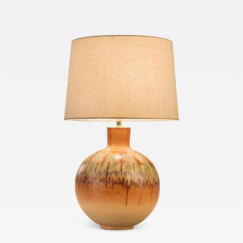 Giovanni Bertoncello An Italian Ceramic Lamp by Bertoncello