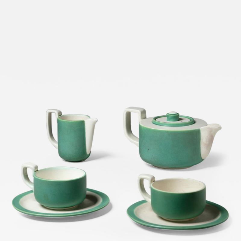 Giovanni Gariboldi Tea Set By Giovanni Gariboldi for Richard Ginori San Cristoforo
