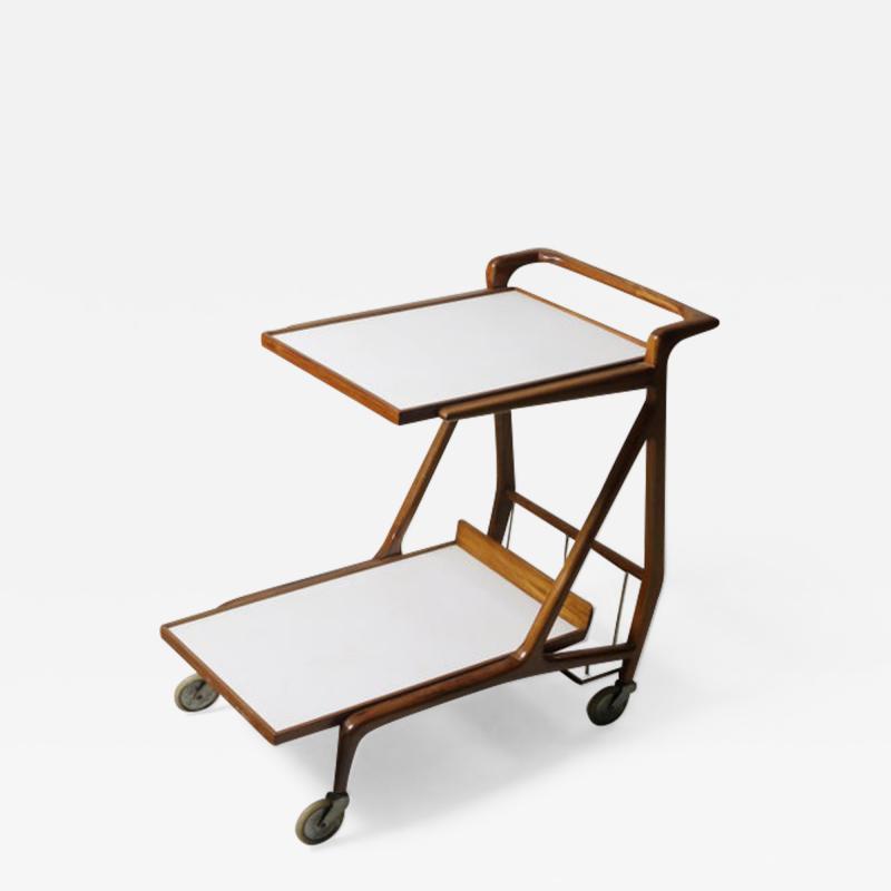 Giuseppe Scapinelli Mid Century Modern Cavi na Tea Cart by Giuseppe Scapinelli Brazil 1950s