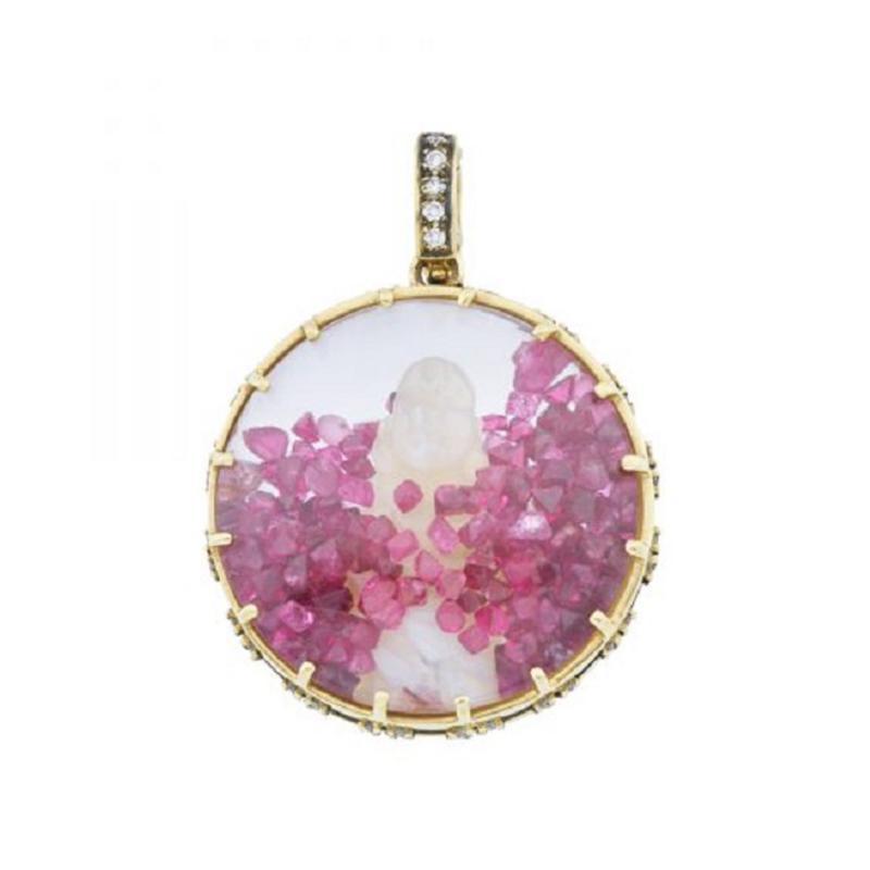 Glenn Bradford Fine Jewelry Buddha Diamond Dust Charm