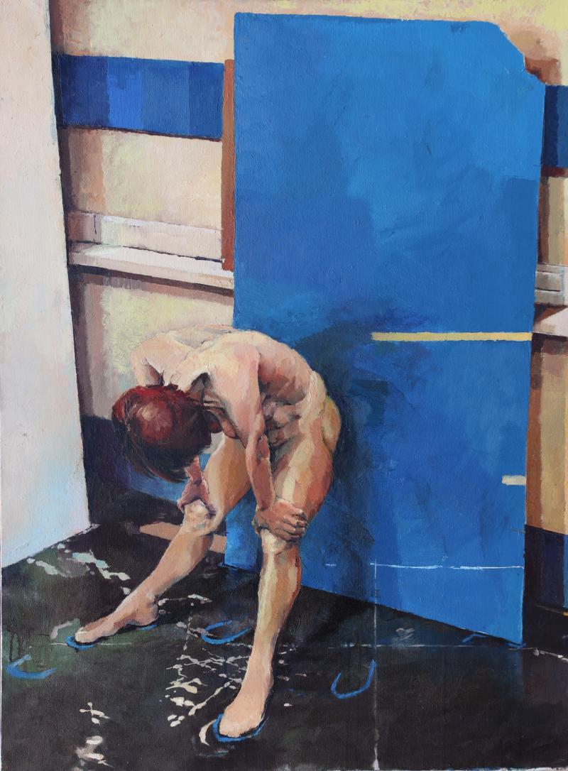 Glenn Ibbitson Blue Board