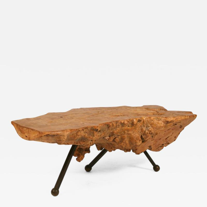 Gnarly Mexican Sabino Burl Slab Cocktail Table