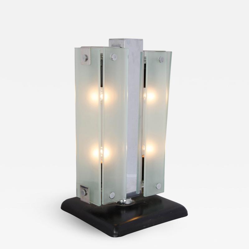 Goffredo Reggiani Italian rectangular table lamp