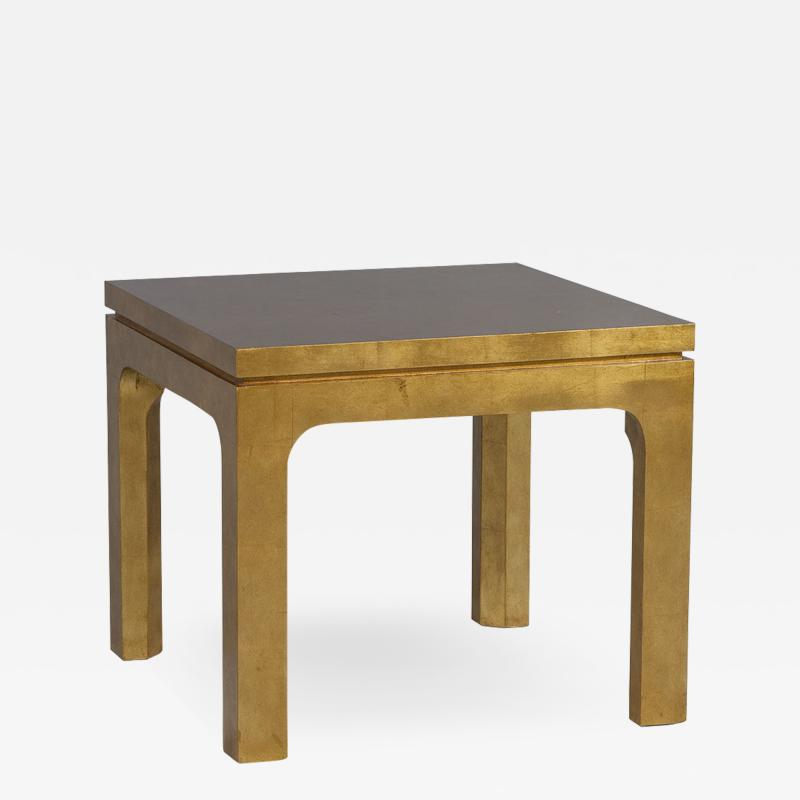 Gold Gilt End Table