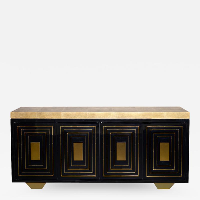 Golden Portals Credenza
