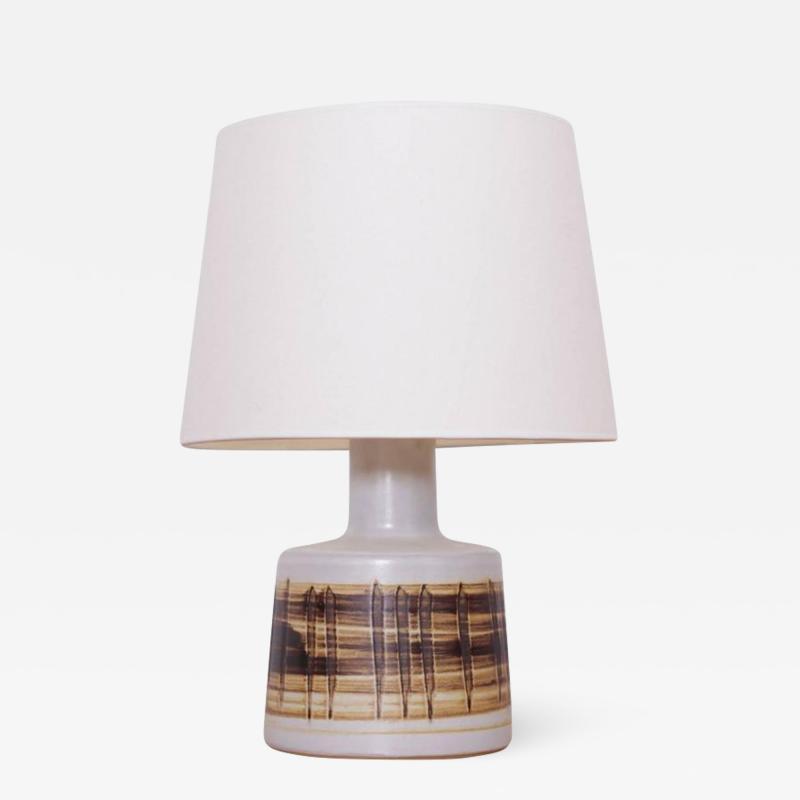 Gordon Martz Stoneware Table Lamp Gordon Martz Marshall Studios Inc n 105 Brown White