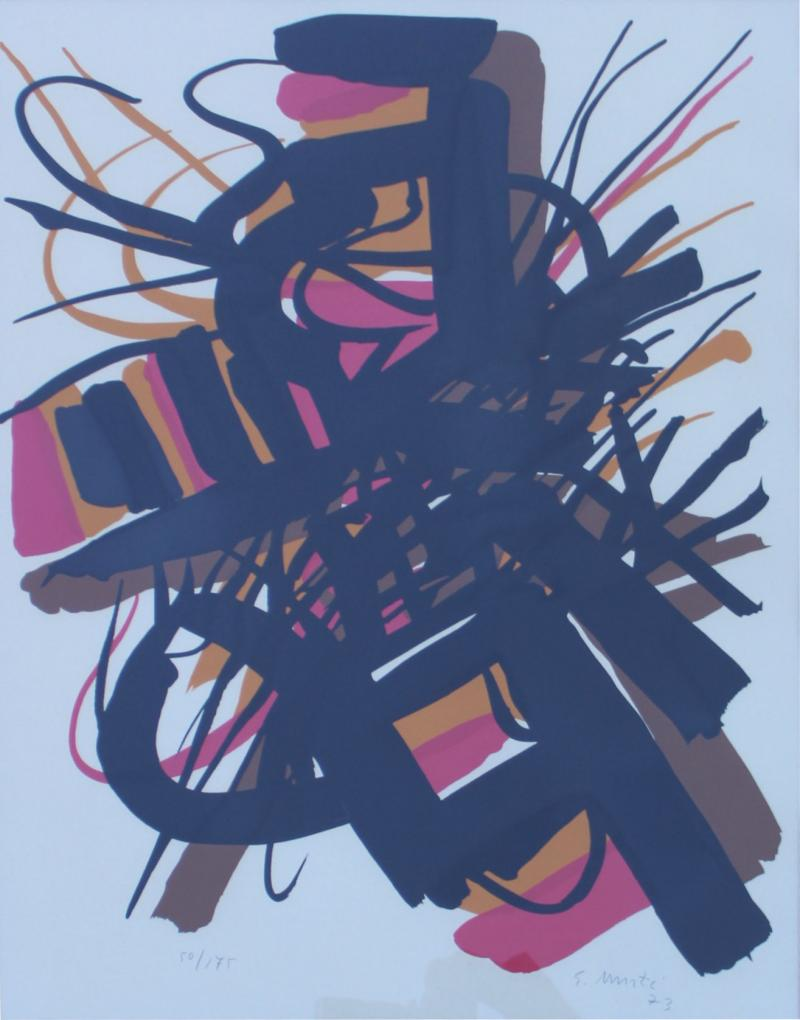 Greg Copeland 1970s Greg Copeland Abstract Artwork