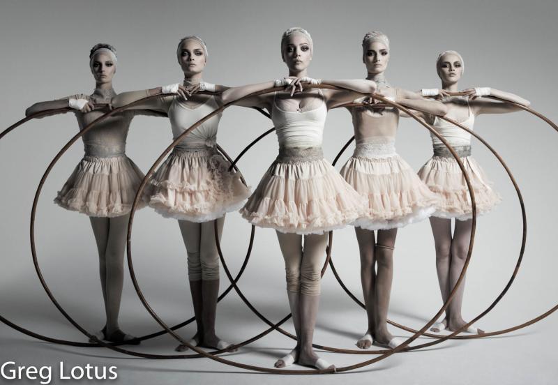 Greg Lotus Hoop Ballet