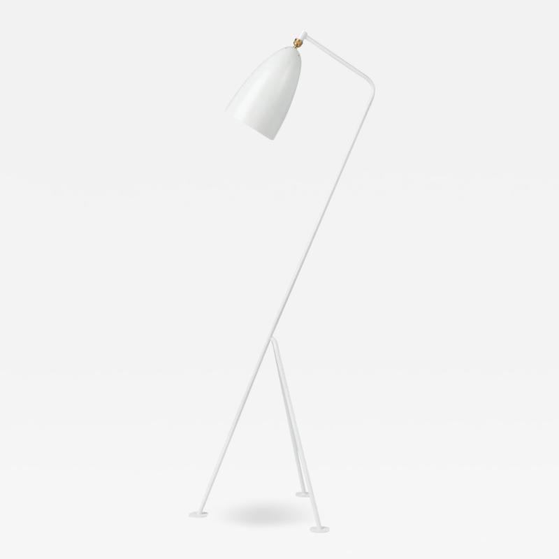 Greta Magnusson Grossman Greta Magnusson Grossman Grasshopper Floor Lamp in White