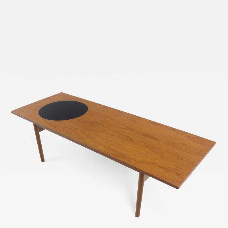 Grete Jalk Scandinavian Modern Coffee Table Designed by Grete Jalk