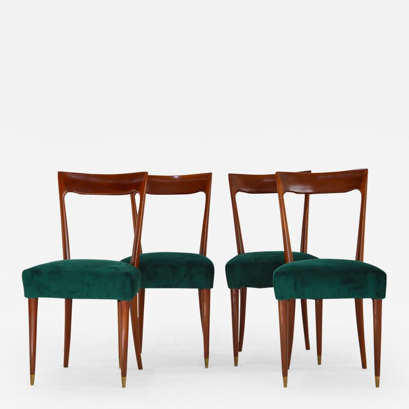 Guglielmo Ulrich Dining Chairs by Guglielmo Ulrich 1940s Set of 4