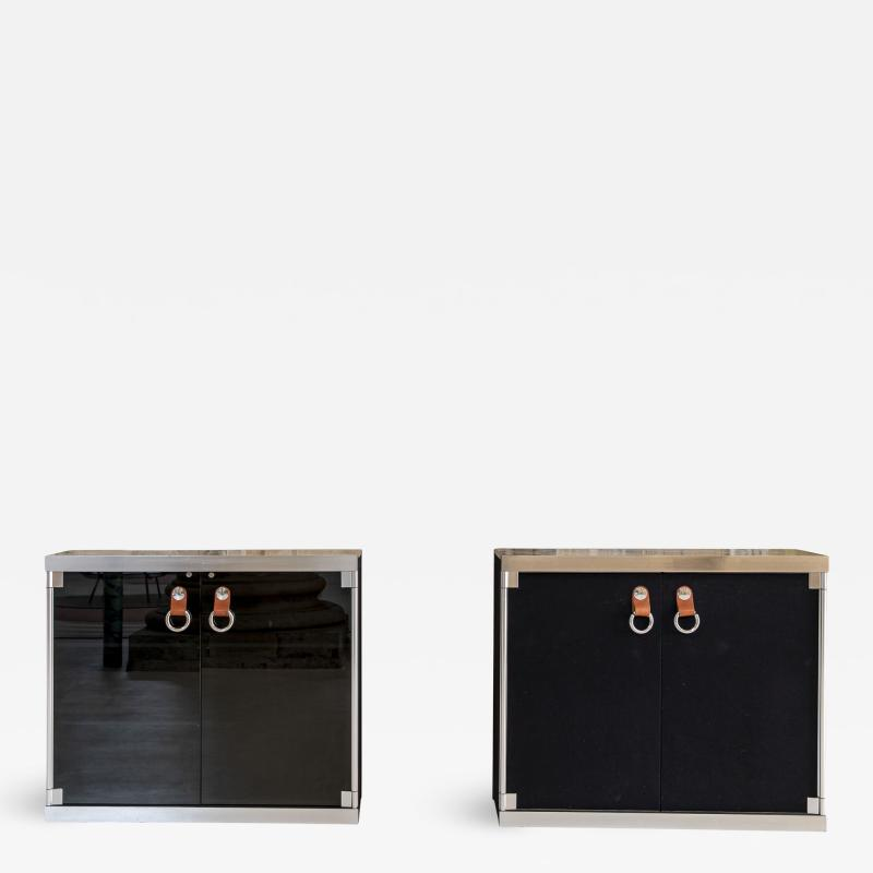 Guido Faleschini Pair of Guido Faleschini Cabinets for Hermes