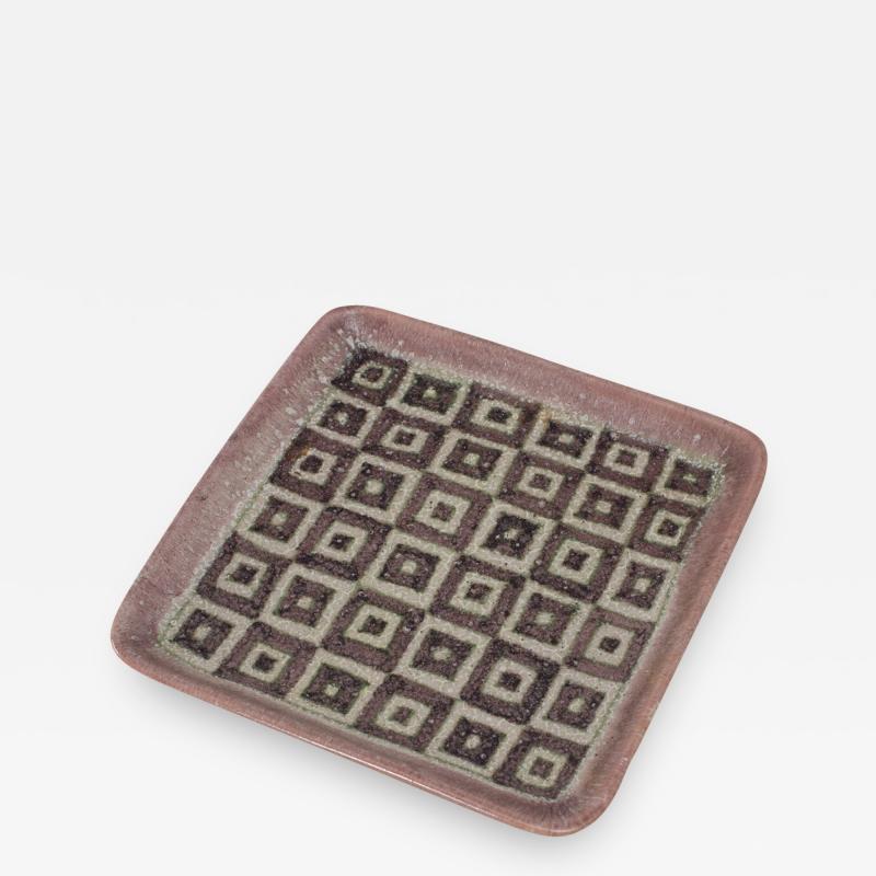Guido Gambone Guido Gambone Square Ceramic Tray