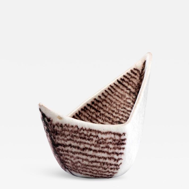 Guido Gambone Italian Ceramic Vessel by Guido Gambone