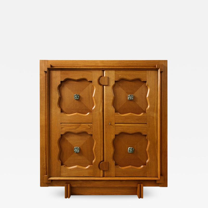 Guillerme et Chambron Large 2 Door Cabinet by Guillerme Chambron