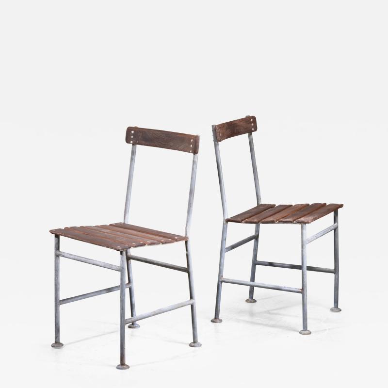 Gunnar Asplund Gunnar Asplund Pair of Garden Chairs