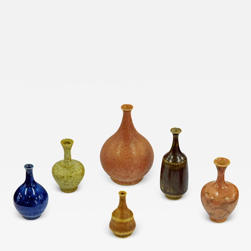 Gunnar Borg Gunnar Borg 100 mini stoneware vases Anderson Johansson H gan s