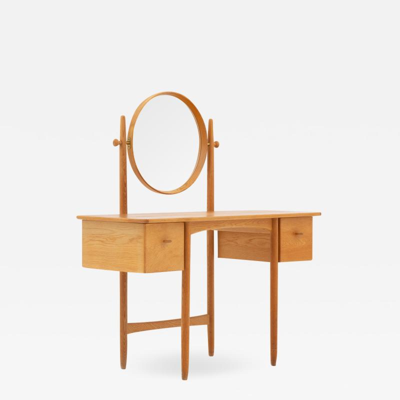 Gunnar Myrstrand Sven Engstr m Swedish Vanity Table in Oak by Sven Engstr m Gunnar Myrstrand