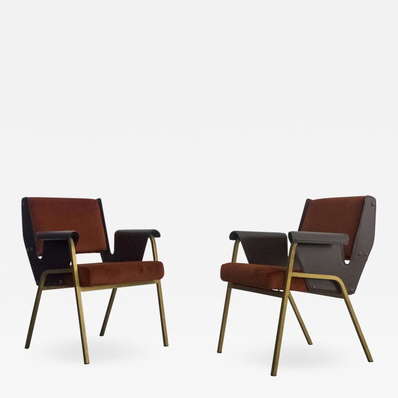 Gustavo Pulitzer Finali Pair of Albenga armchairs for Arflex