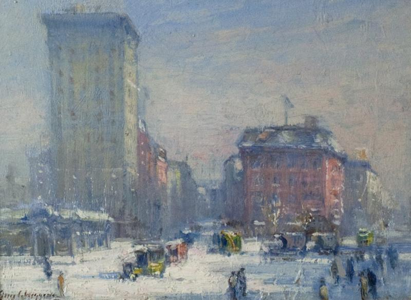 Guy Carleton Wiggins The Circle New York City