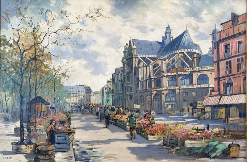 H F Root Les Halles de Paris