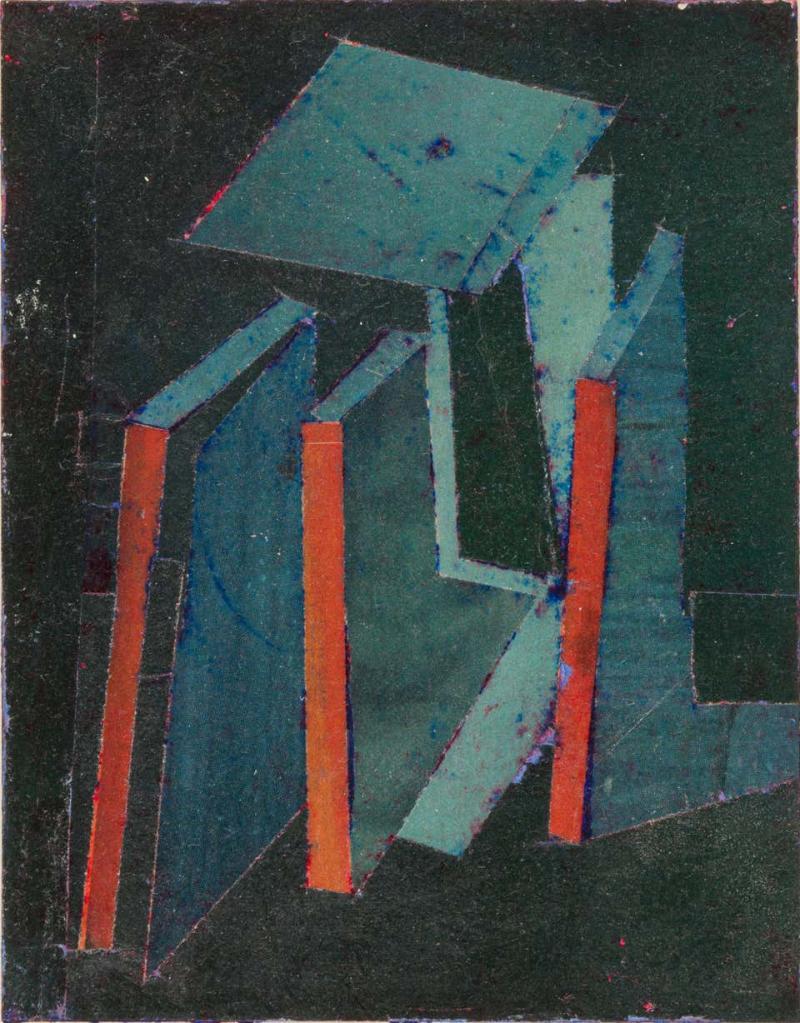 Hank Virgona Mixed Media Artwork