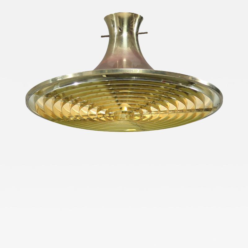 Hans Agne Jakobsson Brass Hans Agne Jakobsson Ceiling Lamp