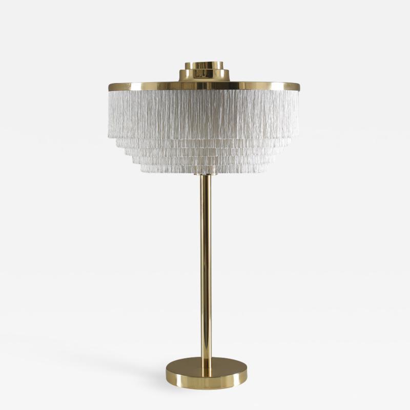 Hans Agne Jakobsson Fringe Table Lamp Model T138 by Hans Agne Jakobsson