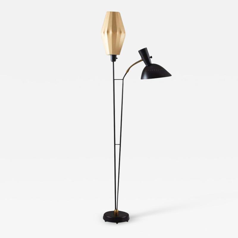 Hans Bergstr m Floor Lamp Attributed to Hans Bergstr m for Atelj Lyktan 1950s Sweden