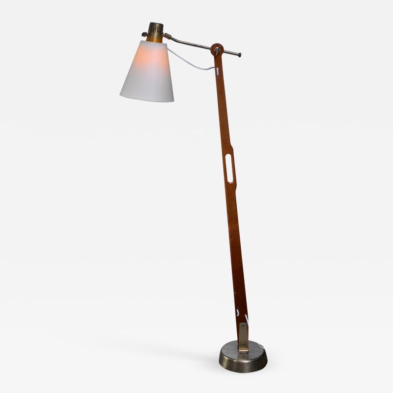 Hans Bergstr m Hans Bergstrom floor lamp for Lyktan Sweden